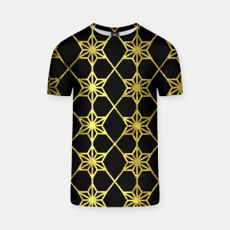 Thumbnail image of Gold Stars Geometric T-shirt, Live Heroes