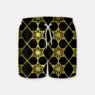 Thumbnail image of Gold Stars Geometric Swim Shorts, Live Heroes