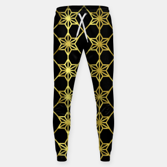 Thumbnail image of Gold Stars Geometric Sweatpants, Live Heroes