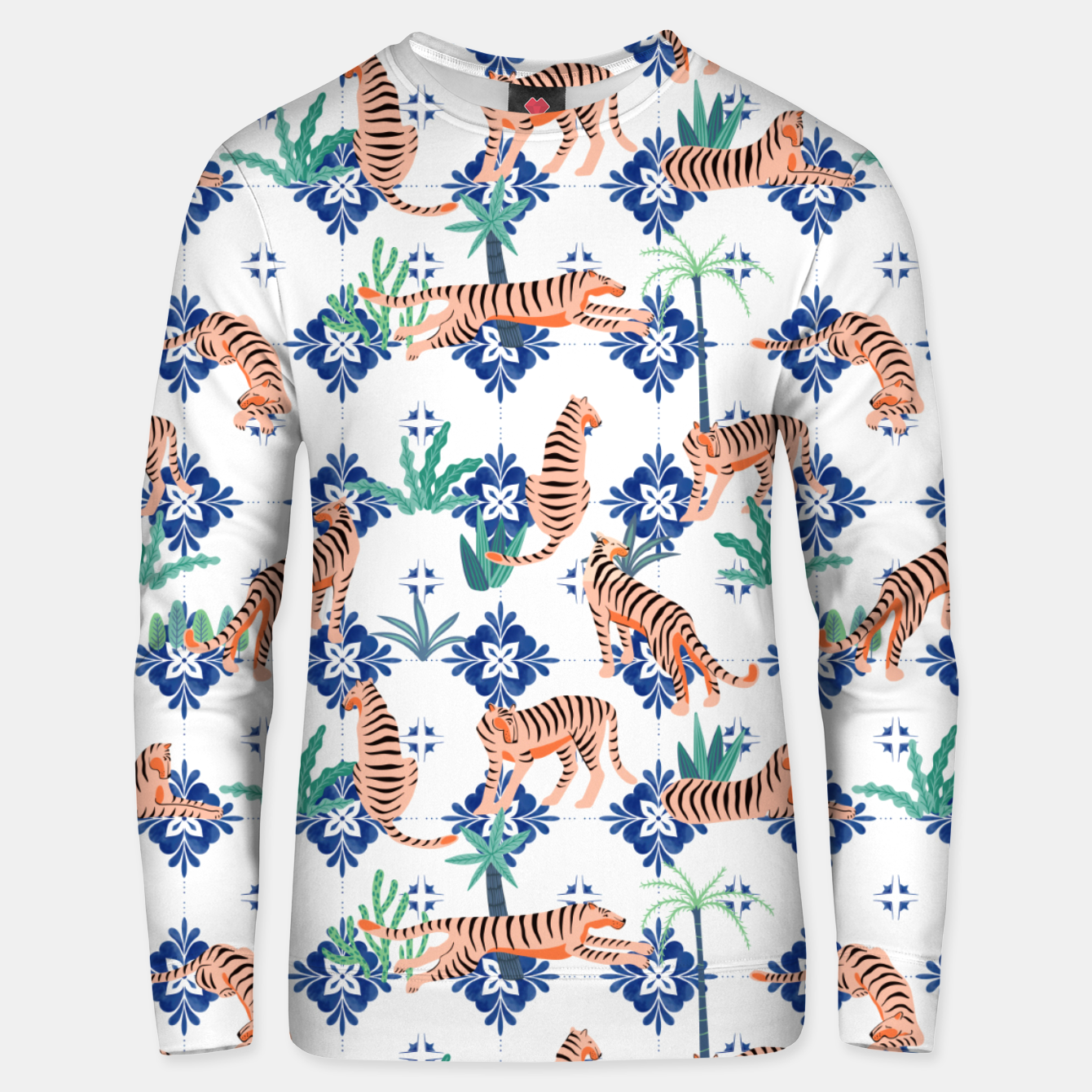 Image of Tigers in Morocco Unisex sweater - Live Heroes