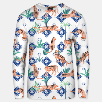 Tigers in Morocco Unisex sweater thumbnail image