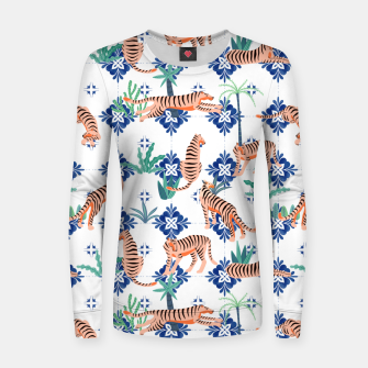 Tigers in Morocco Women sweater thumbnail image