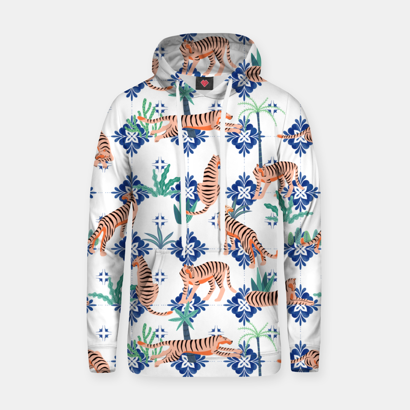 Image of Tigers in Morocco Hoodie - Live Heroes