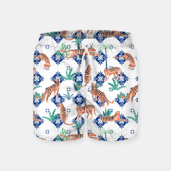 Tigers in Morocco Swim Shorts thumbnail image