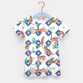 Tigers in Morocco Kid's t-shirt thumbnail image