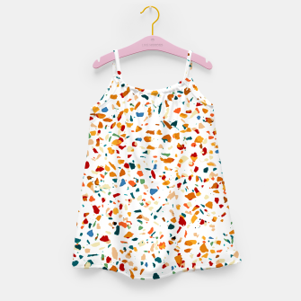 Miniature de image de Tan Terrazzo Girl's dress, Live Heroes