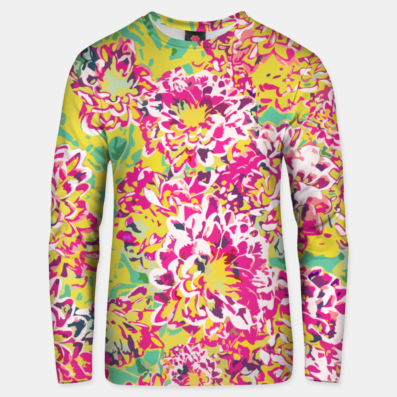 Image of All Along You Were Blooming Unisex sweater - Live Heroes