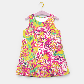 All Along You Were Blooming Girl's summer dress thumbnail image