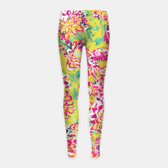 All Along You Were Blooming Girl's leggings thumbnail image