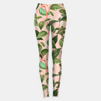How Lovely Is the Silence of Growing Things Leggings thumbnail image