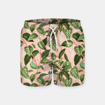 How Lovely Is the Silence of Growing Things Swim Shorts thumbnail image