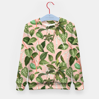 How Lovely Is the Silence of Growing Things Kid's sweater thumbnail image