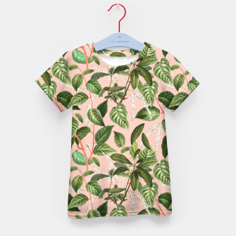 How Lovely Is the Silence of Growing Things Kid's t-shirt thumbnail image