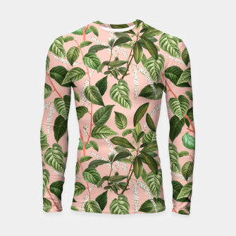 How Lovely Is the Silence of Growing Things Longsleeve rashguard  thumbnail image