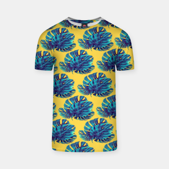 Monstera Bohemian Yellow  Camiseta thumbnail image