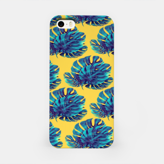 Monstera Bohemian Yellow  Carcasa por Iphone thumbnail image