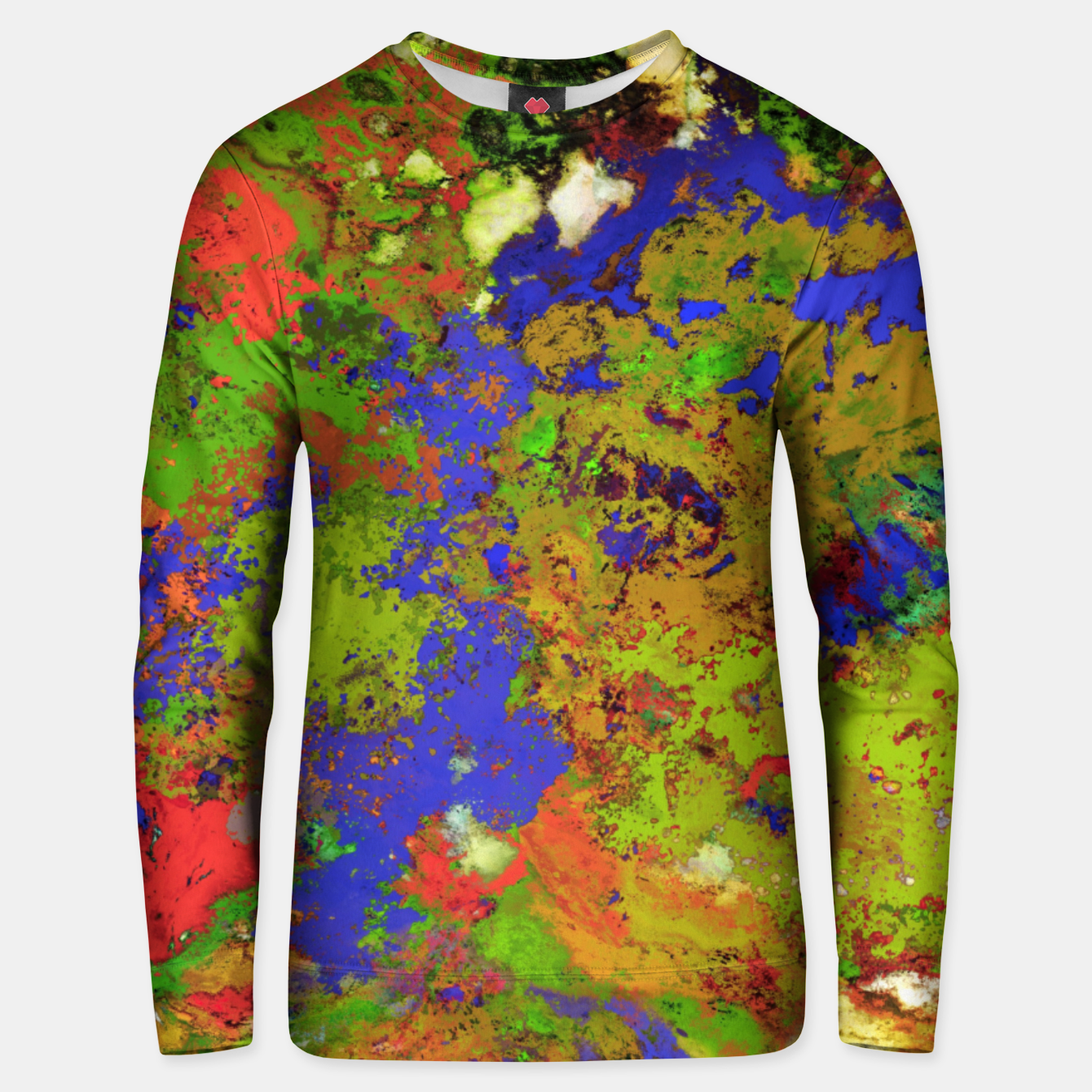 Image of A returning thought Unisex sweater - Live Heroes