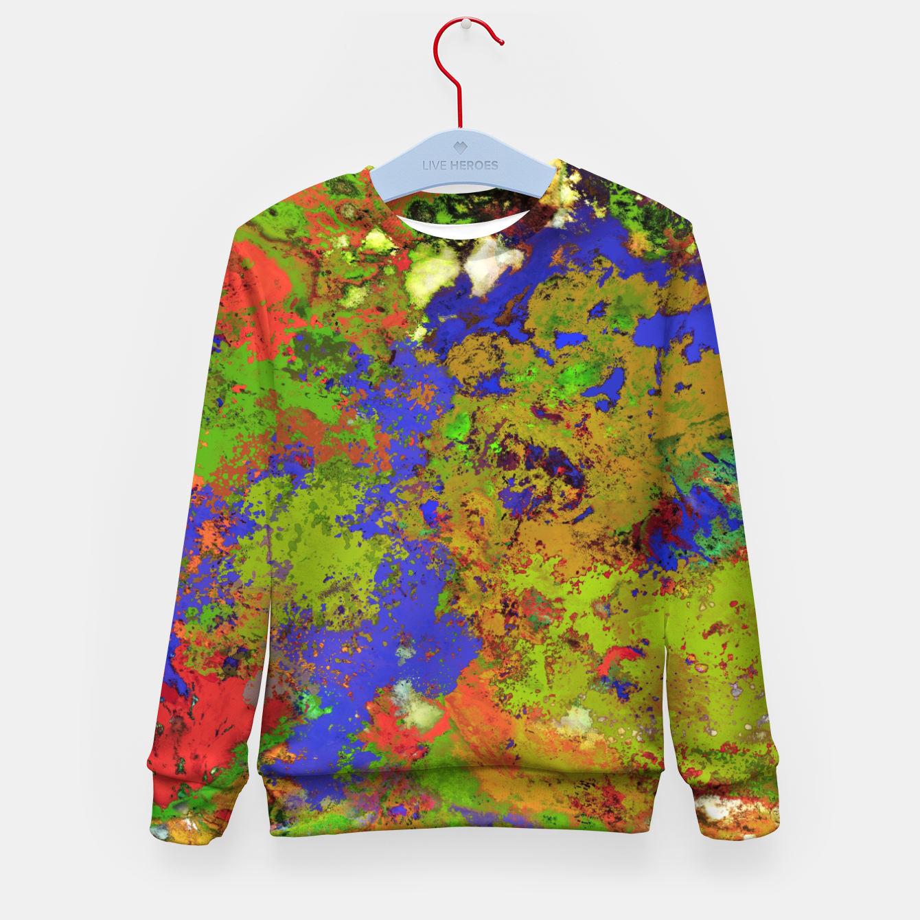 Image of A returning thought Kid's sweater - Live Heroes