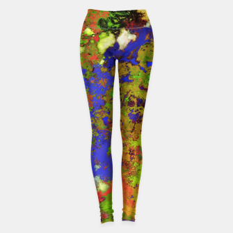 Thumbnail image of A returning thought Leggings, Live Heroes