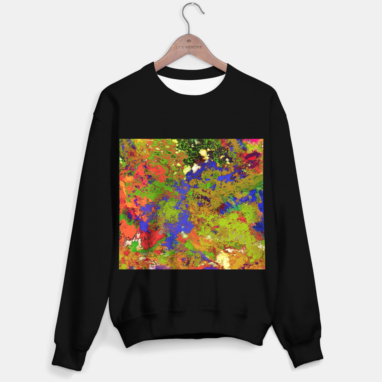 Image of A returning thought Sweater regular - Live Heroes