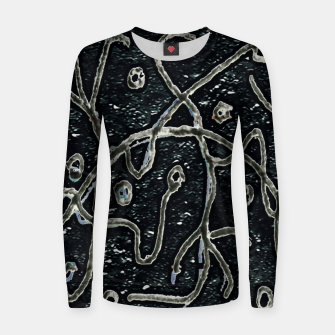 Dark Abstract Surface Artwork Women sweater thumbnail image