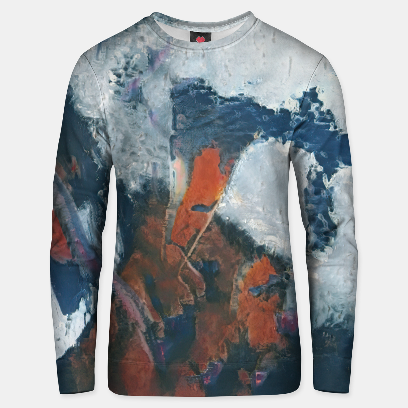 Image of abstract 1 Unisex sweater - Live Heroes