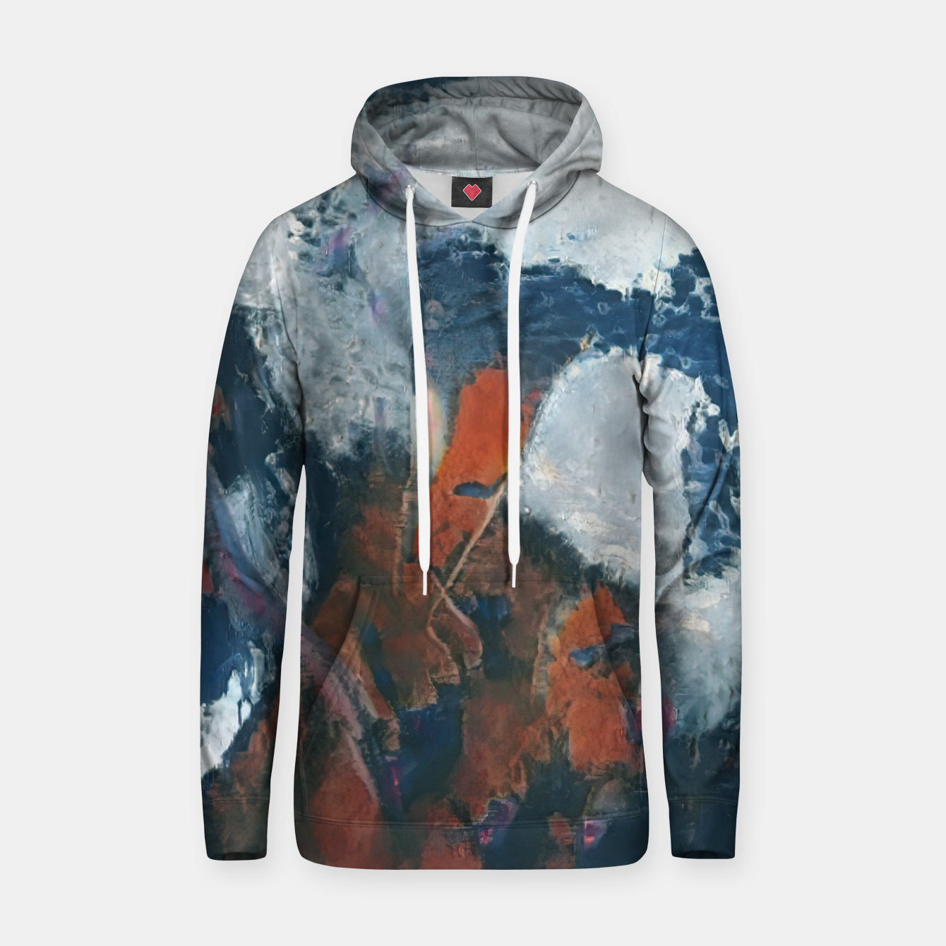 Image of abstract 1 Hoodie - Live Heroes