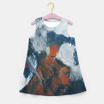 Miniaturka abstract 1 Girl's summer dress, Live Heroes