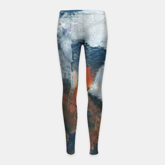 Miniaturka abstract 1 Girl's leggings, Live Heroes