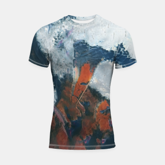 Miniaturka abstract 1 Shortsleeve rashguard, Live Heroes