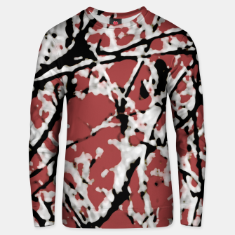Vibrant Abstract Textured Artwork Unisex sweater thumbnail image