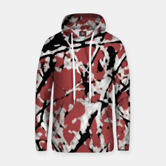 Vibrant Abstract Textured Artwork Hoodie thumbnail image