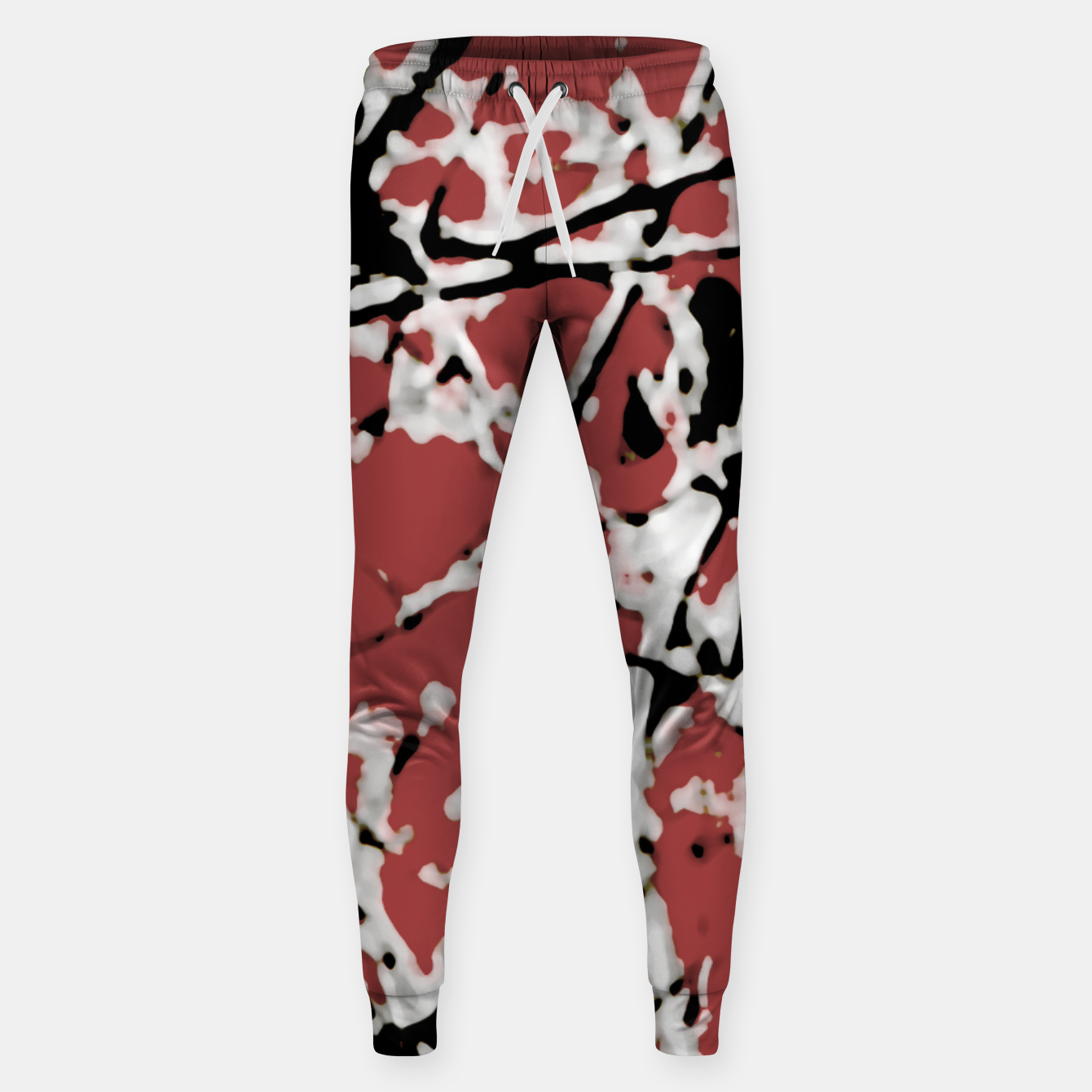 Image of Vibrant Abstract Textured Artwork Sweatpants - Live Heroes