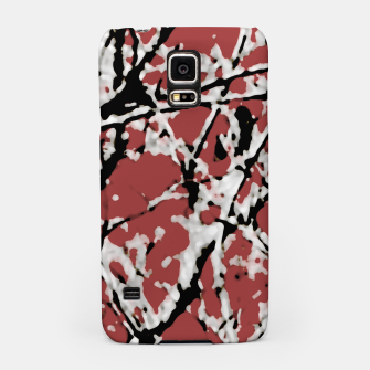 Vibrant Abstract Textured Artwork Samsung Case thumbnail image