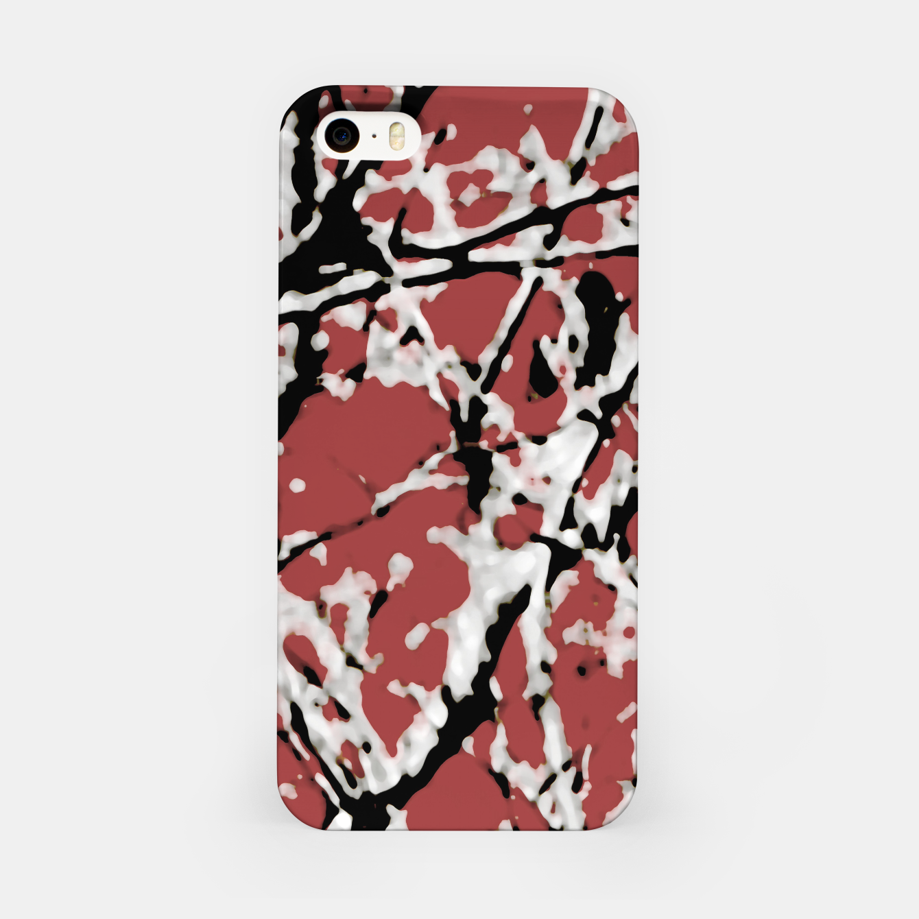 Image of Vibrant Abstract Textured Artwork iPhone Case - Live Heroes