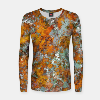 Leaves in the water Women sweater thumbnail image