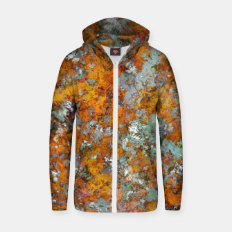 Leaves in the water Zip up hoodie thumbnail image