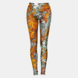 Leaves in the water Leggings thumbnail image