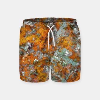 Leaves in the water Swim Shorts thumbnail image