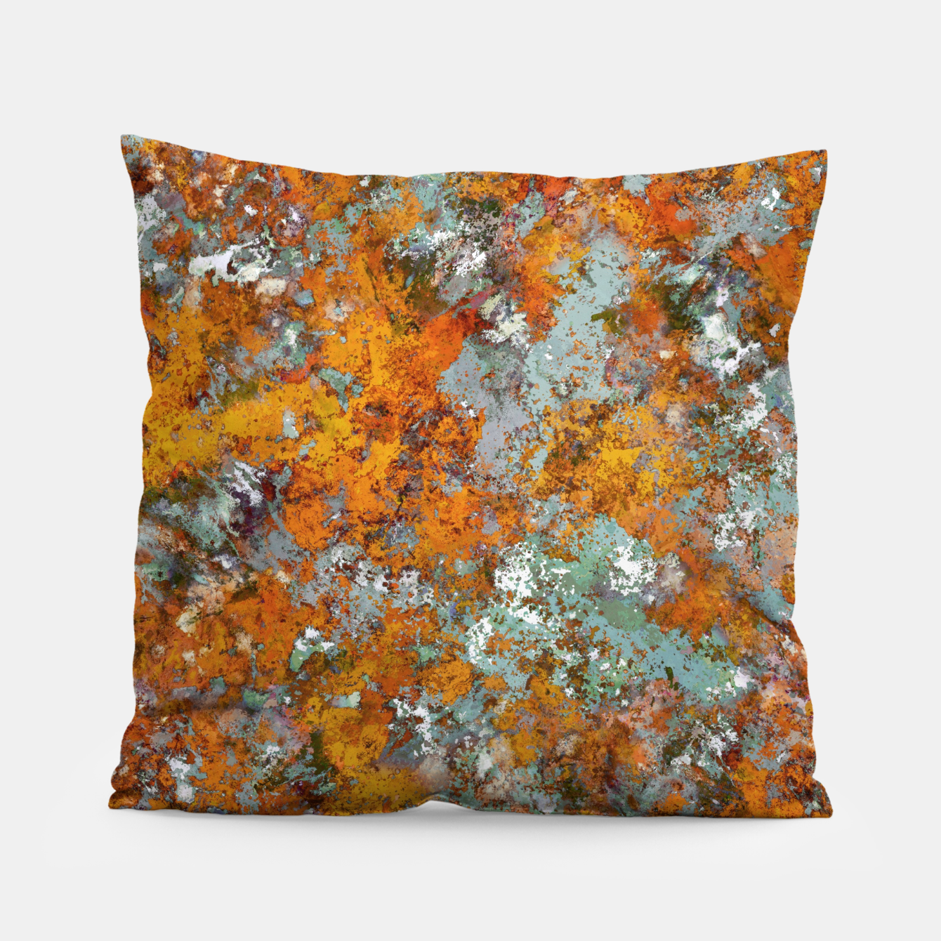Image of Leaves in the water Pillow - Live Heroes