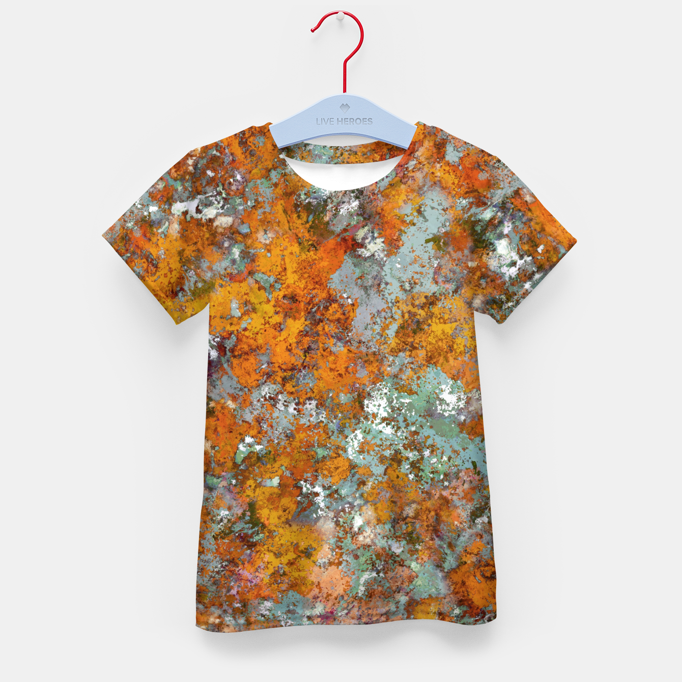 Image of Leaves in the water Kid's t-shirt - Live Heroes