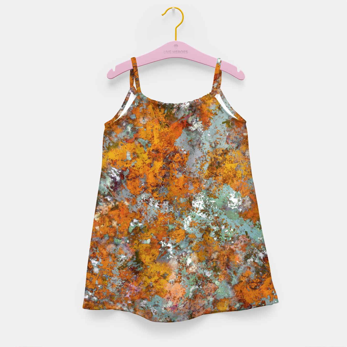 Image of Leaves in the water Girl's dress - Live Heroes