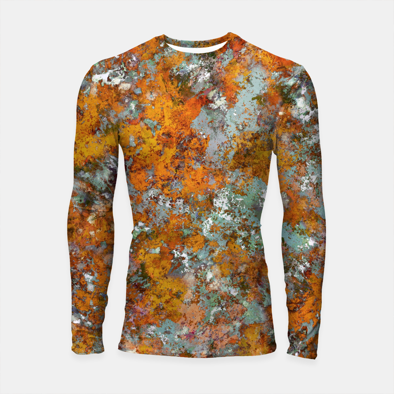 Image of Leaves in the water Longsleeve rashguard  - Live Heroes