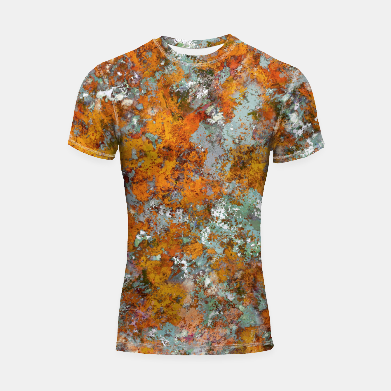 Image of Leaves in the water Shortsleeve rashguard - Live Heroes