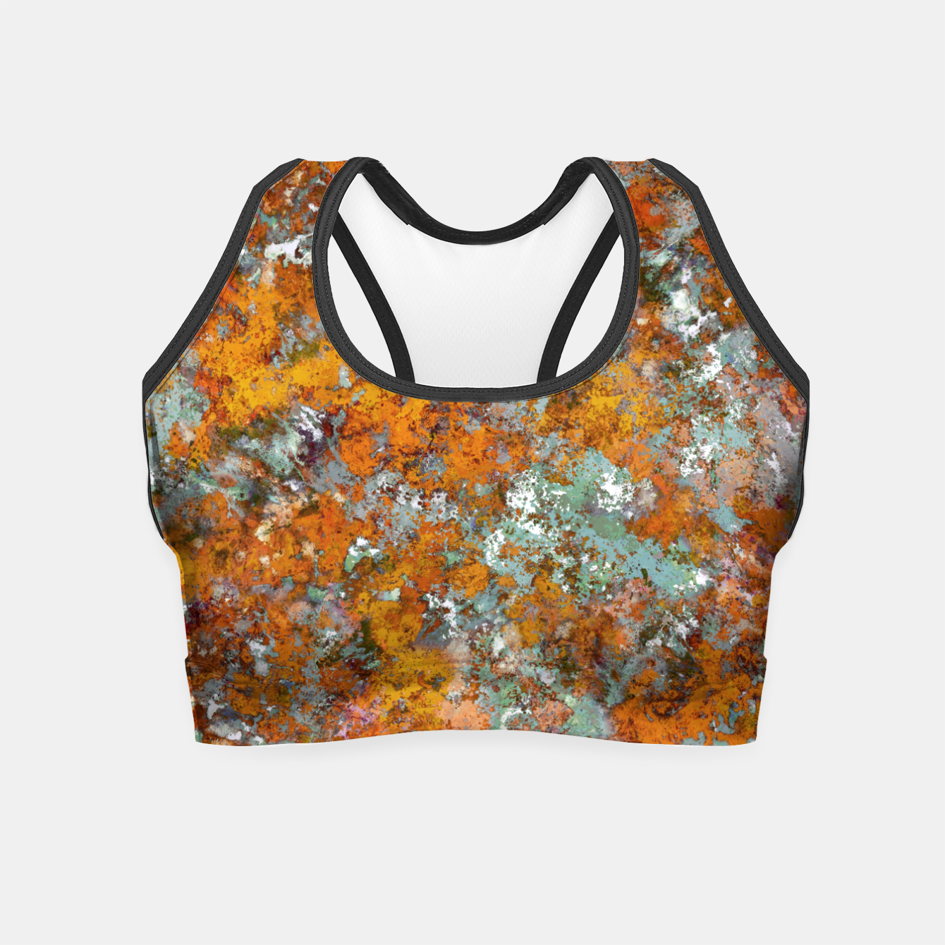 Image of Leaves in the water Crop Top - Live Heroes