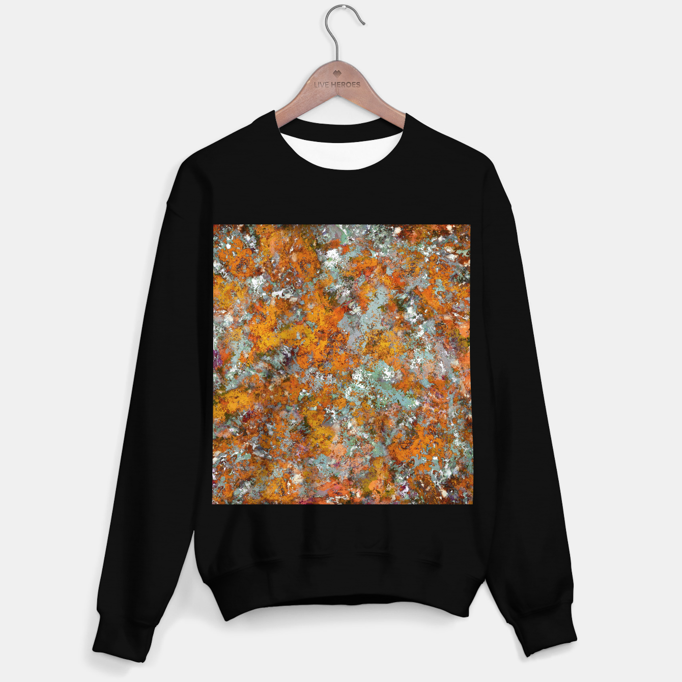Image of Leaves in the water Sweater regular - Live Heroes