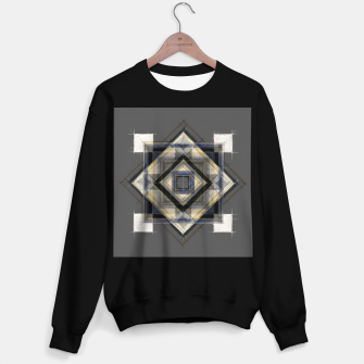Thumbnail image of Hand Made Edited Pencil Geometry in Grey Sweater regular, Live Heroes