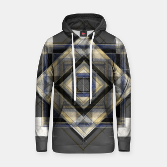 Hand Made Edited Pencil Geometry in Grey Hoodie thumbnail image
