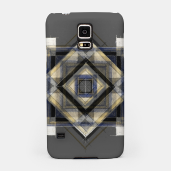 Miniatur Hand Made Edited Pencil Geometry in Grey Samsung Case, Live Heroes
