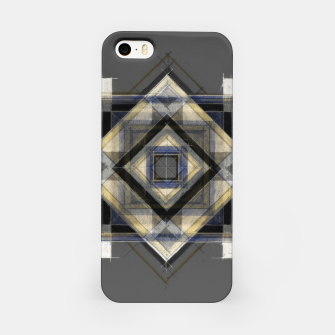 Imagen en miniatura de Hand Made Edited Pencil Geometry in Grey iPhone Case, Live Heroes